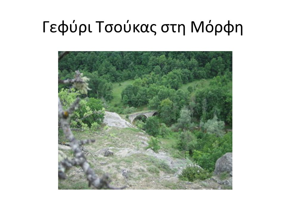 Γεφύρι Τσούκας στη Μόρφη