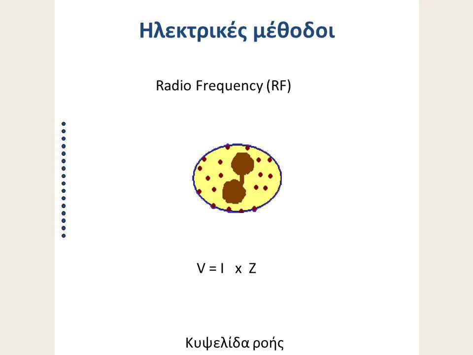 Κυψελίδα ροής V = I x Z Radio Frequency (RF) Ηλεκτρικές μέθοδοι