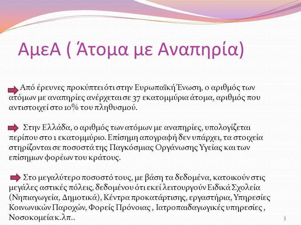 Η οργάνωση εκπροσώπησης των Ατόμων με Αναπηρία στην ελληνική πολιτεία και κοινωνία.