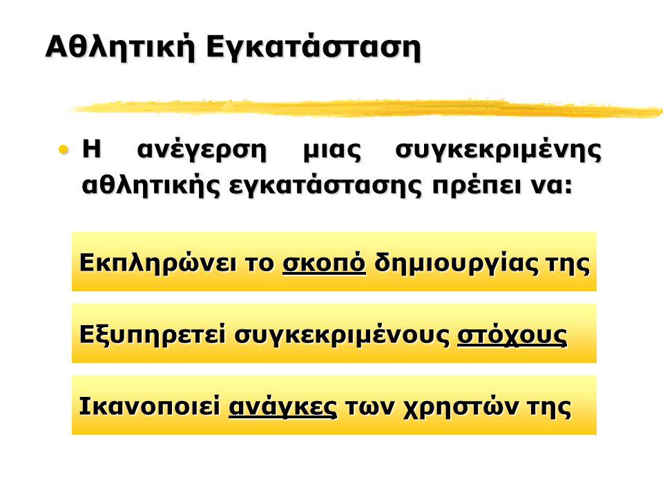 Παρατηρήθηκαν τα αντίστοιχα χωριά προηγούμενων Ολυμπιακών Αγώνων, από την ομάδα των αρχιτεκτόνων Προσδιορίστηκαν ζητήματα που αφορούσαν τις ανάγκες των αθλητών, την ασφάλεια τους, τη μεταφορά τους στις αγωνιστικές εγκαταστάσεις κλπ από την Οργανωτική Επιτροπή του Αθήνα 2004.