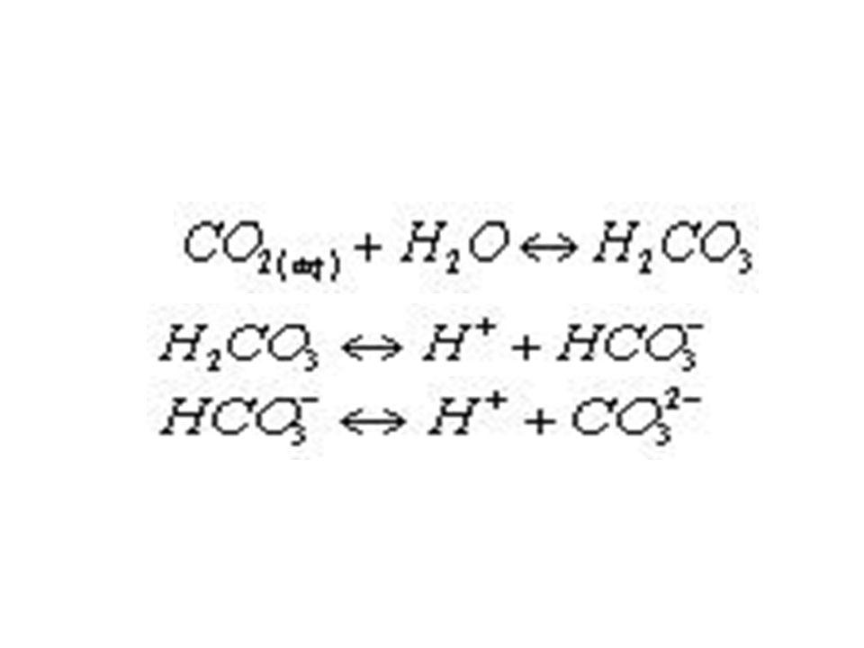 Η ποσότητα του διαλυμένου ανοργάνου άνθρακα (DIC) δηλαδή η ποσότητα του βιοδιαθέσιμου άνθρακα υπολογίζεται ως εξής: C available=(total alkalinity) x (pH factor) = mgC/L
