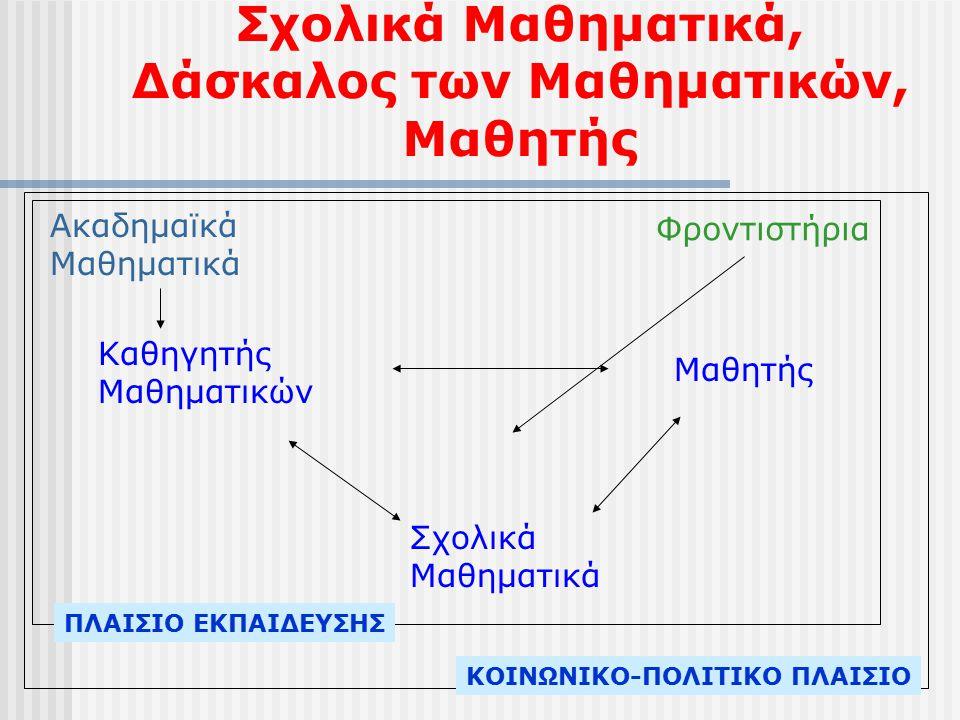 Σχολικά Μαθηματικά, Δάσκαλος των Μαθηματικών, Μαθητής Καθηγητής Μαθηματικών Μαθητής Σχολικά Μαθηματικά Ακαδημαϊκά Μαθηματικά Φροντιστήρια ΠΛΑΙΣΙΟ ΕΚΠΑΙΔΕΥΣΗΣ ΚΟΙΝΩΝΙΚΟ-ΠΟΛΙΤΙΚΟ ΠΛΑΙΣΙΟ