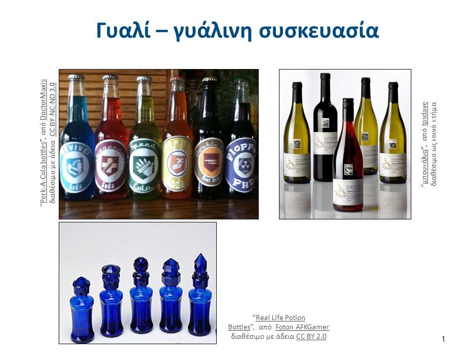 Γυαλί – γυάλινη συσκευασία Perk-A-Cola bottles , από DoctorMaxis διαθέσιμο με άδεια CC BY-NC-ND 3.0Perk-A-Cola bottlesDoctorMaxisCC BY-NC-ND 3.0 μπουκάλια , από tpsdave διαθέσιμο ως κοινό κτήμαμπουκάλιαtpsdave Real Life Potion Bottles , από Foton AFKGamer διαθέσιμο με άδεια CC BY 2.0Real Life Potion BottlesFoton AFKGamerCC BY 2.0 1