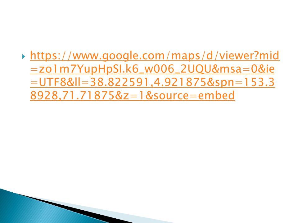  https://www.google.com/maps/d/viewer mid =zo1m7YupHpSI.k6_w006_2UQU&msa=0&ie =UTF8&ll=38.822591,4.921875&spn=153.3 8928,71.71875&z=1&source=embed https://www.google.com/maps/d/viewer mid =zo1m7YupHpSI.k6_w006_2UQU&msa=0&ie =UTF8&ll=38.822591,4.921875&spn=153.3 8928,71.71875&z=1&source=embed