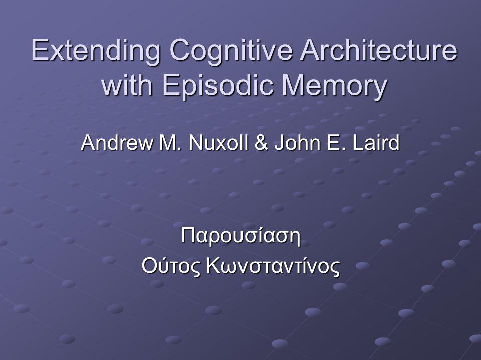 Εισαγωγή Επεισοδιακή Μνήμη – Θυμάμαι VS Σημασιολογική Μνήμη - Γνωρίζω