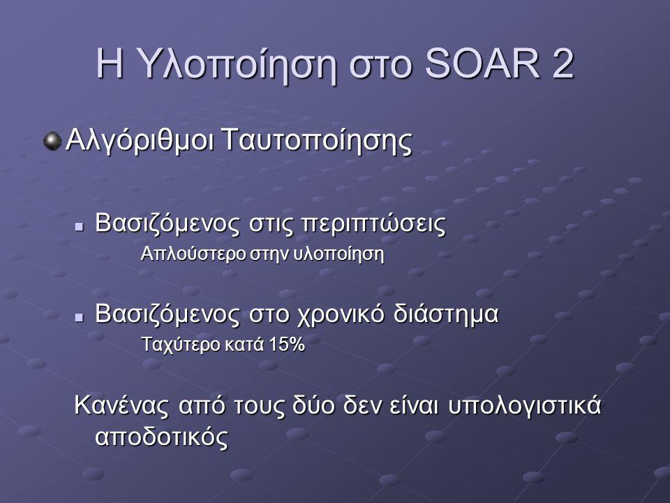 Η Υλοποίηση στο SOAR 3 Το TankSoar
