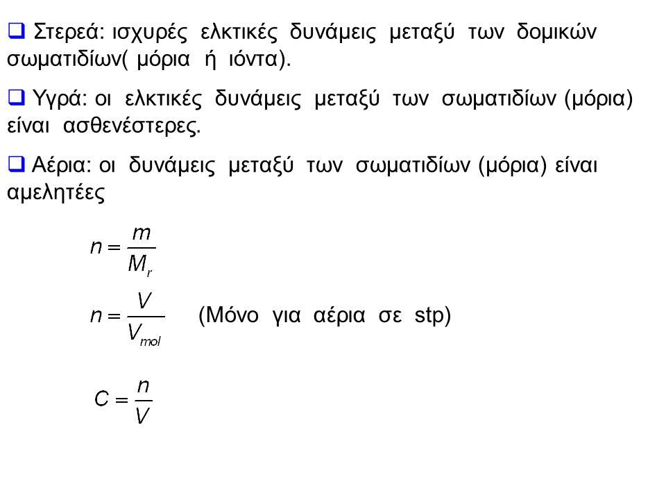 μέταλλααμέταλλα K, Na, Ag, Mg, Ca, Zn, Al, Cu, Fe H, F, Cl, Br, I, O, S, N, P, C Μέταλλο + αμέταλλο  ετεροπολικός δεσμός (ιοντικός).