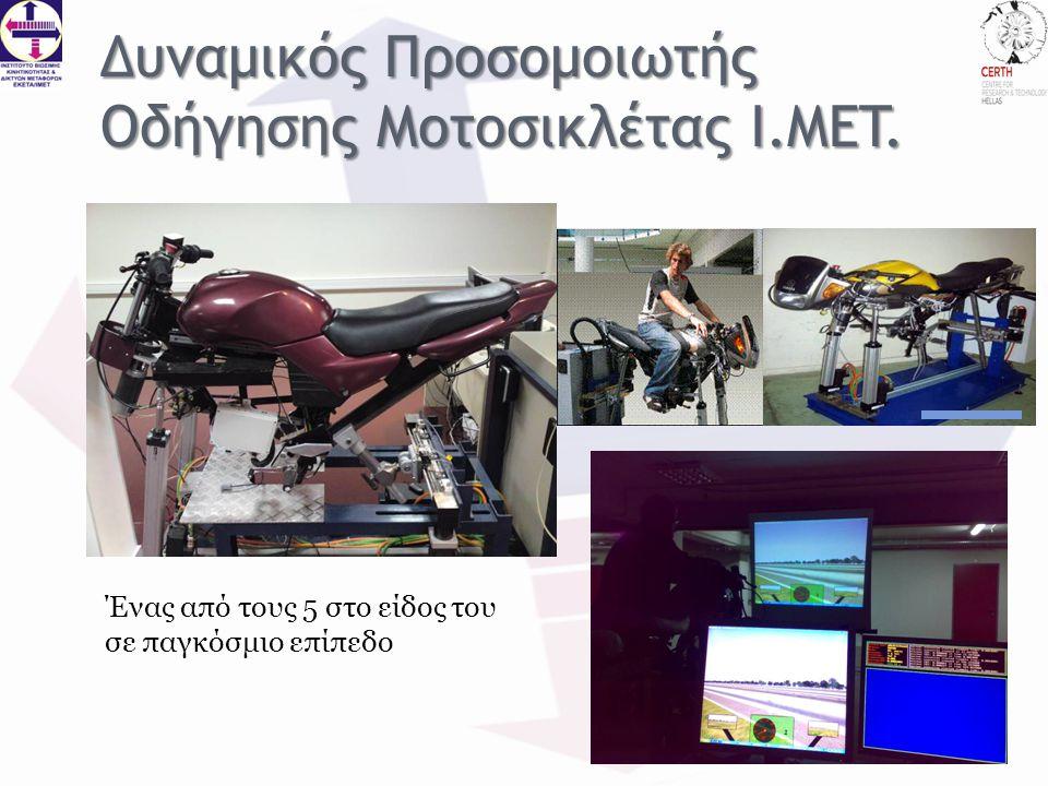 Δυναμικός Προσομοιωτής Οδήγησης Μοτοσικλέτας I.MET.