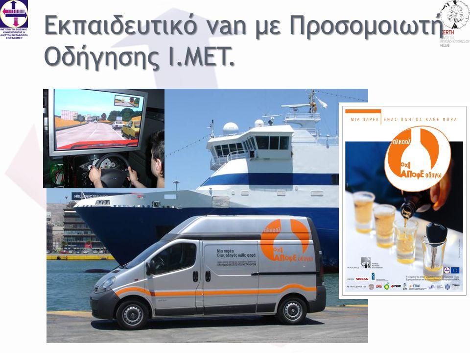 Εκπαιδευτικό van με Προσομοιωτή Οδήγησης I.MET.