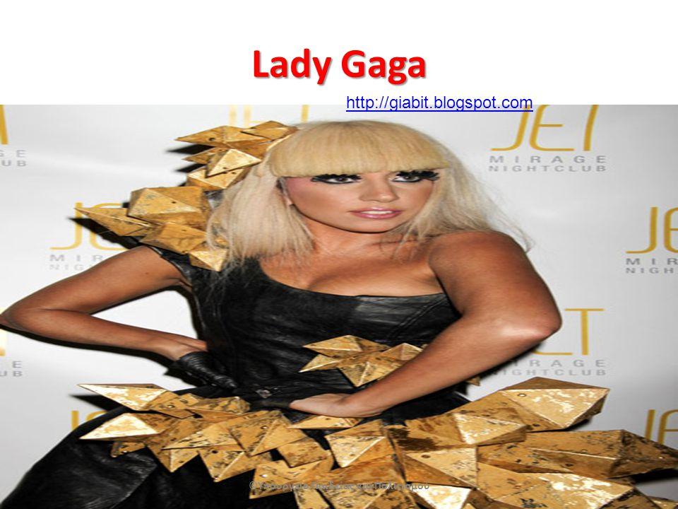 Lady Gaga ©Υπουργείο Παιδείας και Πολιτισμού http://giabit.blogspot.com