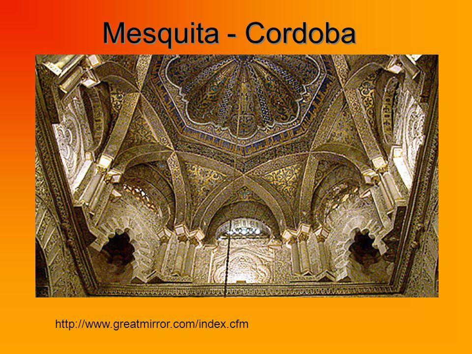Mesquita - Cordoba http://www.greatmirror.com/index.cfm