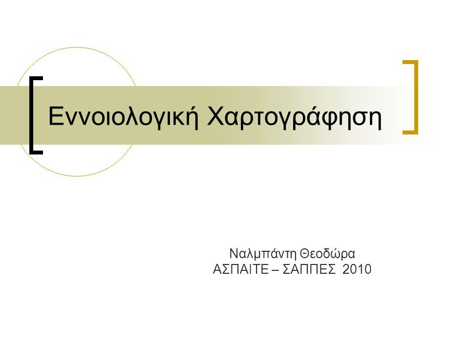 Εννοιολογική Χαρτογράφηση Ναλμπάντη Θεοδώρα ΑΣΠΑΙΤΕ – ΣΑΠΠΕΣ 2010