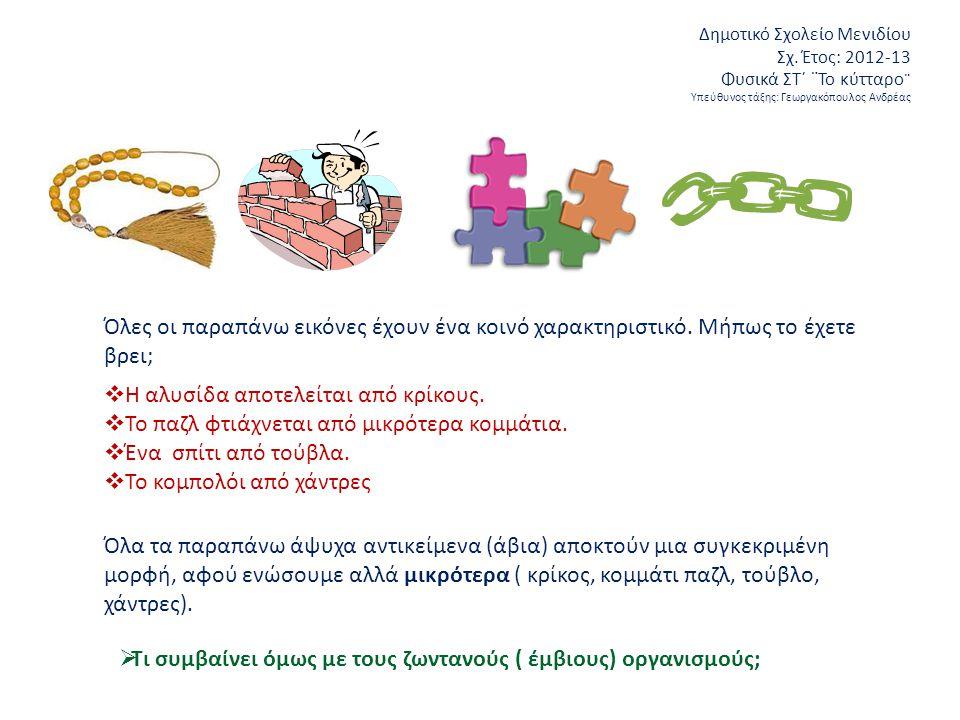 Δημοτικό Σχολείο Μενιδίου Σχ.