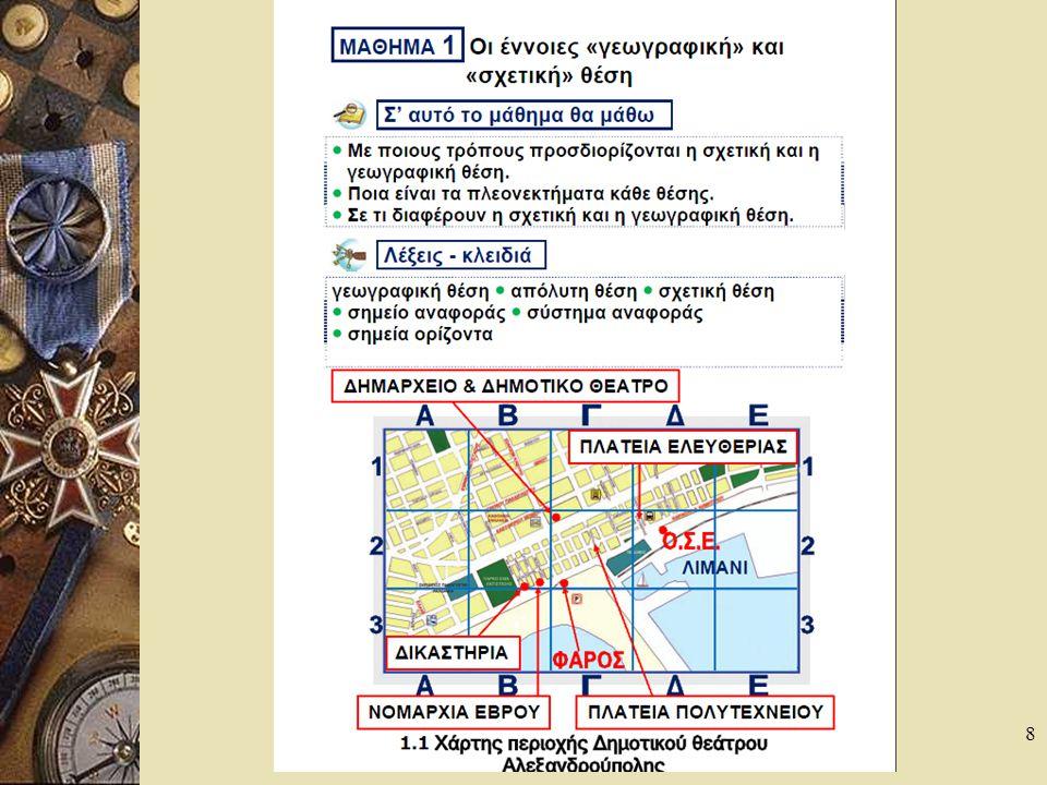 9 H σημασία της σχετικής θέσης για τους ανθρώπους Ποια είναι η διαφορά της γεωγραφικής και σχετικής θέσης; θέσησχετικήδραστηριότητεςχαρακτηριστικαδυνατότητεςγεωγραφικήΑκριβής τόπος