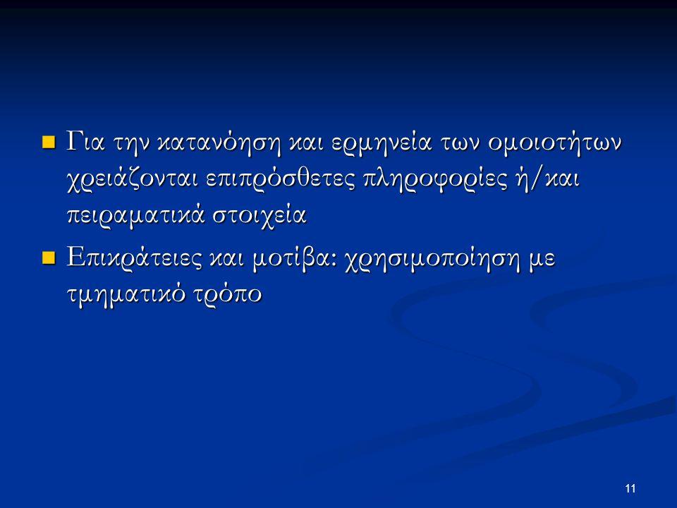 12 ΕΙΚΟΝΑ 12.1: ΕΙΚΟΝΑ 12.1: Παραδείγματα πρωτεϊνικών επικρατειών.