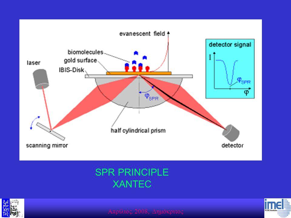 Aπρίλιος. 2008, Δημόκριτος SPR PRINCIPLE XANTEC