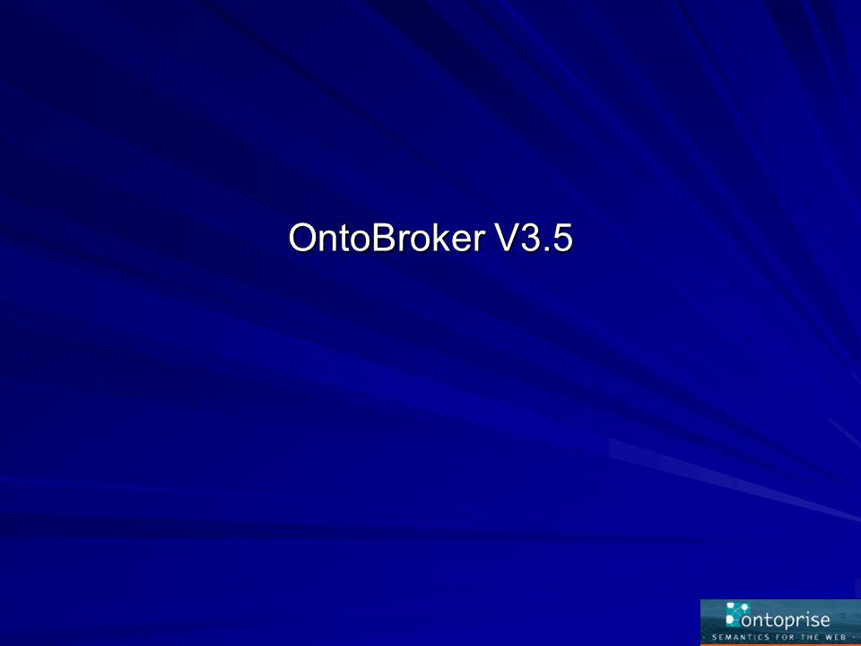 OntoBroker V3.5
