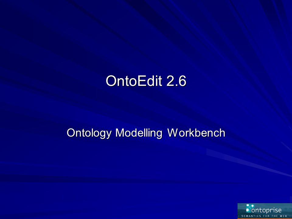 Δυνατότητες του OntoEdit Οπτική αναπαράσταση της οντολογίας (Visualizer plug-in)