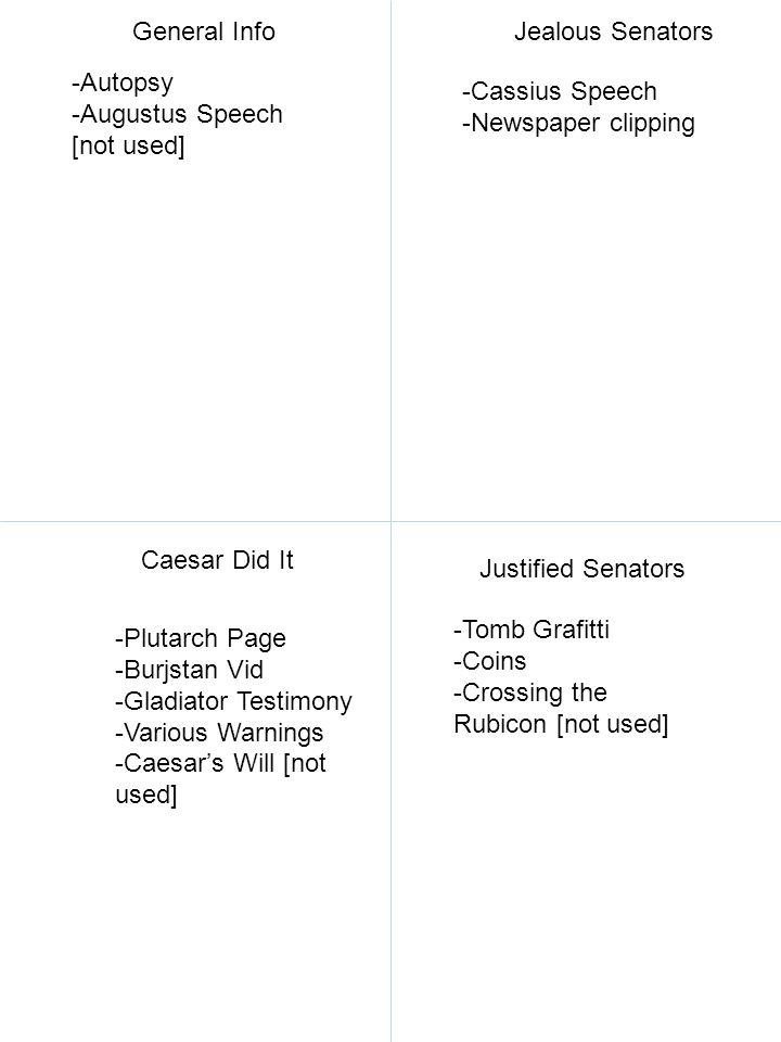 Exhibit E: bodyguard's statement 1.Why did Tyrannus think Caesar fired him.