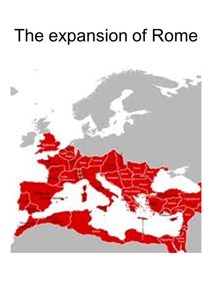The expansion of Rome