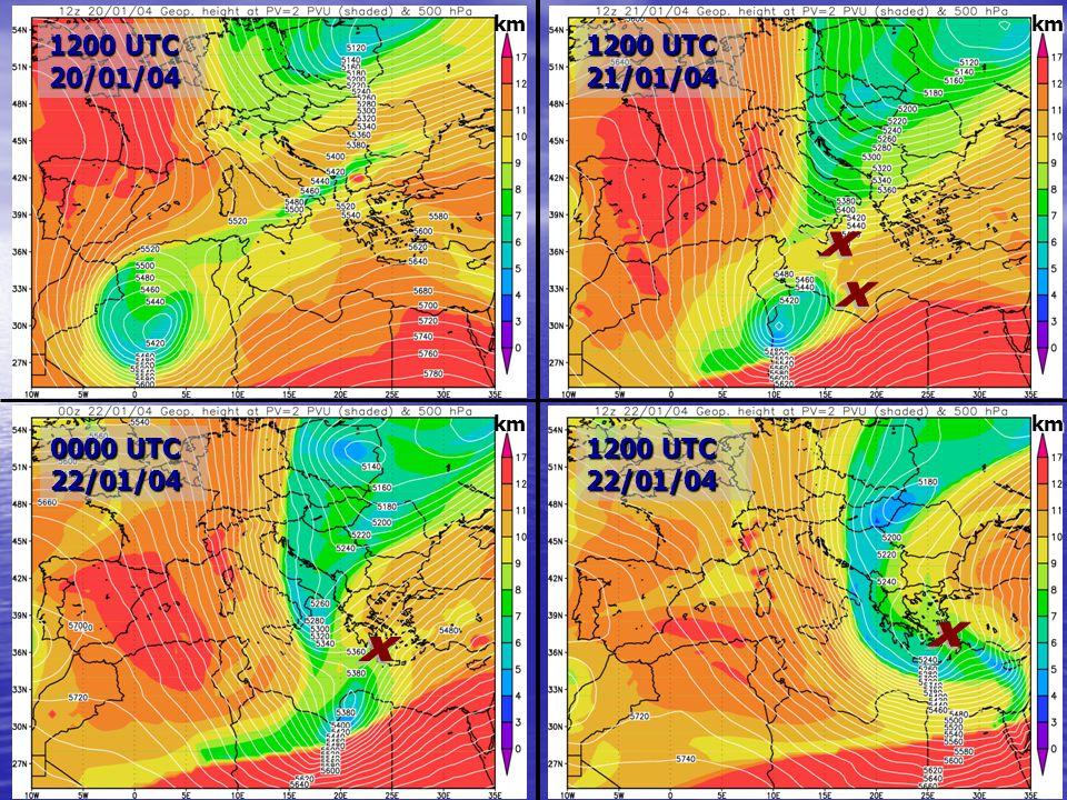 15 0000 UTC 22/01/04 1200 UTC 22/01/04 1200 UTC 20/01/04 1200 UTC 21/01/04 km km km km