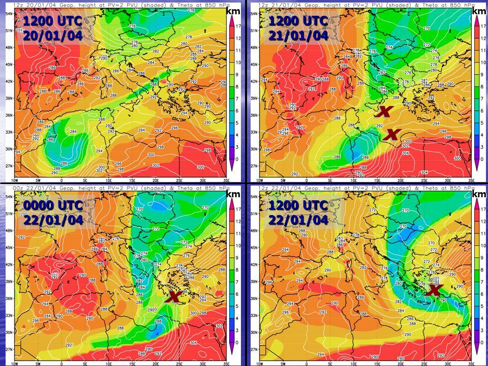 16 0000 UTC 22/01/04 1200 UTC 22/01/04 1200 UTC 20/01/04 1200 UTC 21/01/04 km km km km