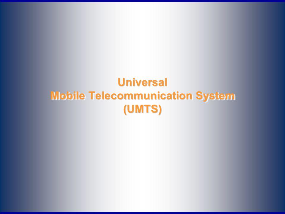 2 Περιεχόμενα παρουσιάσεων Εισαγωγή στο UMTS (3G) Αναφορά στα συστήματα 2ης γενιάς (GSM) Η τεχνολογία GPRS Εκδόσεις του UMTS Υποστήριξη δυναμικά αναπροσαρμοζόμενων δικτύων, τερματικών, εφαρμογών και υπηρεσιών (Reconfigurable systems and networks)