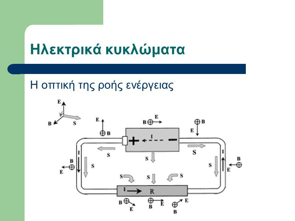Ηλεκτρικά κυκλώματα Η οπτική της ροής ενέργειας