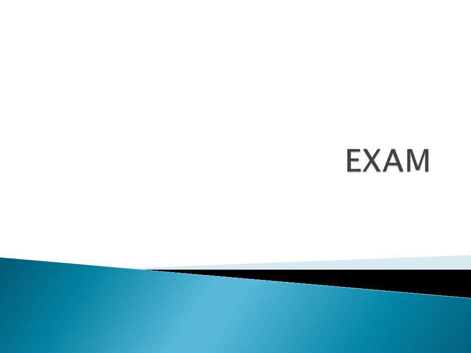 Γενικές οδηγίες:  Η Εξέταση αποτελείται από 5 (πέντε) μέρη και πρέπει να απαντήστε σε όλες τις ερωτήσεις.