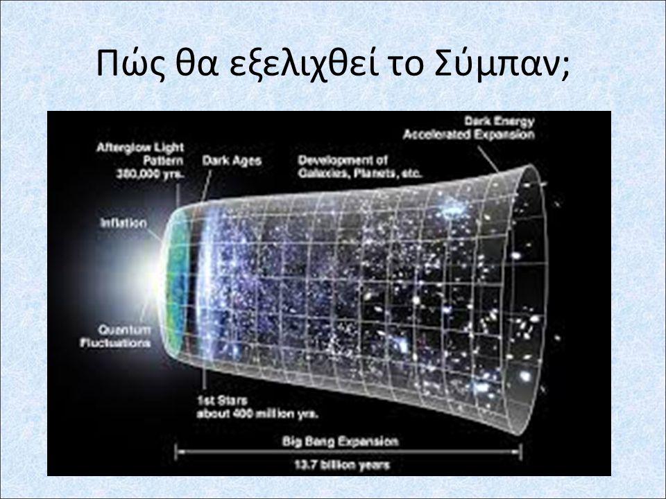 Πώς έγινε το Σύμπαν;