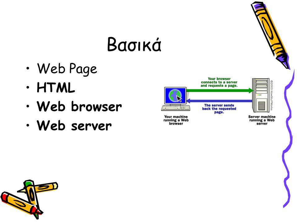 Δημιουργώντας Links στην δικιά σας σελίδα Αnchor tags χρησιμοποιούνται όχι μόνο για να συνδεθούμε με άλλες σελίδες στο Internet, αλλά και για να εντοπίσουμε πληροφορίες στην δικιά μας σελίδα.