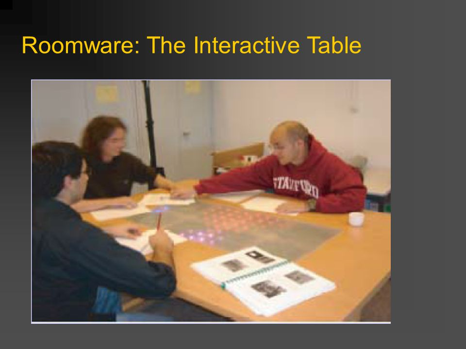 Roomware: The Interactive Table