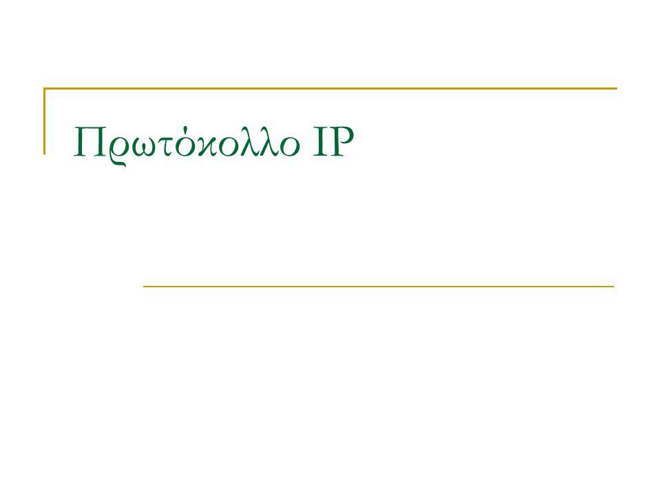 Πρωτόκολλο IP