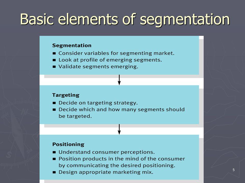 6 Multivariable segmentation