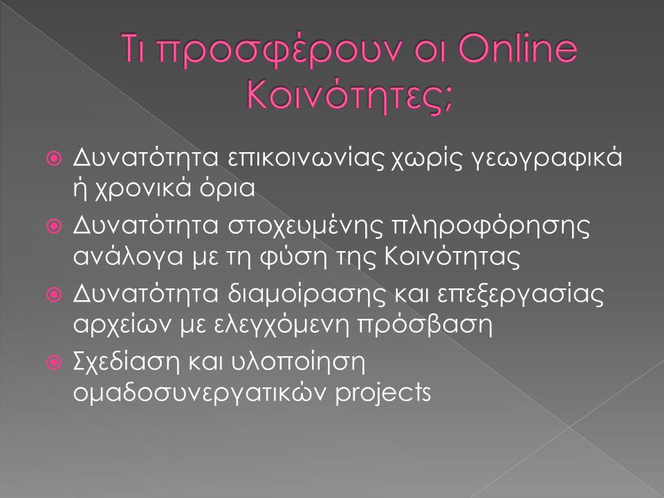  Ελληνική Επιστημονική Ένωση Τεχνολογιών Πληροφορίας& Επικοινωνιών στην Εκπαίδευση: http://etpe.grhttp://etpe.gr  Ελληνική Ένωση για την αξιοποίηση των ΤΠΕ στην Εκπαίδευση: http://www.e-diktyo.euhttp://www.e-diktyo.eu  Παιδαγωγική Εταιρεία Ελλάδος: http://www.pee.gr http://www.pee.gr  Ελληνική Μαθηματική Εταιρεία: http://www.hms.gr http://www.hms.gr