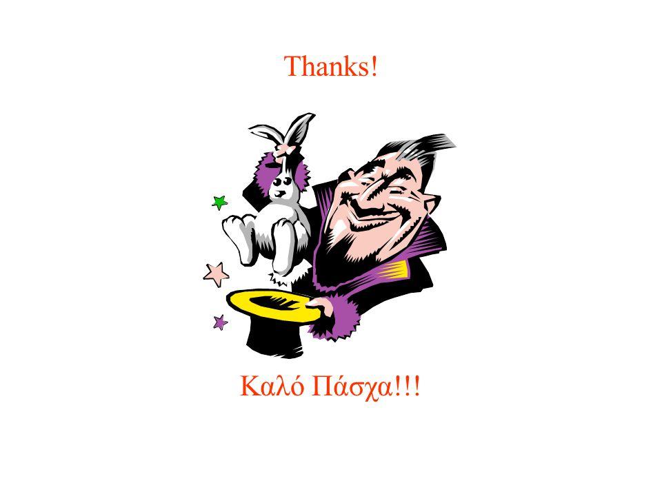 Thanks! Καλό Πάσχα!!!
