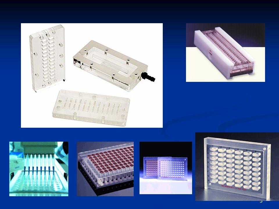 14 Για τον εντοπισμό κάθε μορίου στις μικροσυστοιχίες που κατασκευάζονται μέσω φωτολιθογραφίας χρησιμοποιούνται πολυάριθμα ολιγονουκλεοτίδια.