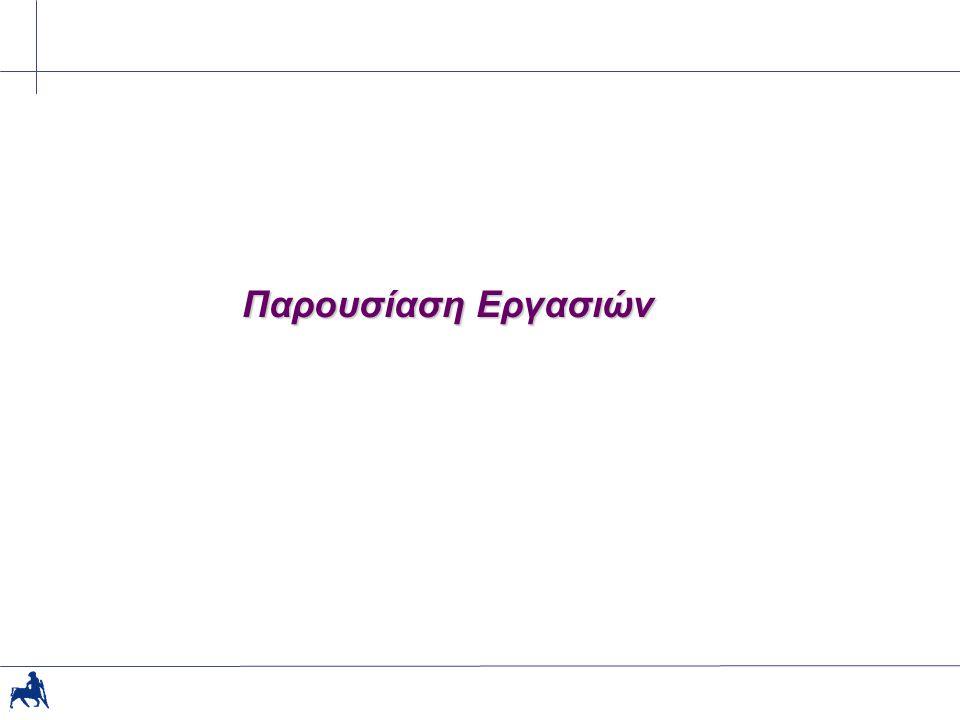 4/19/2015Παν.Θεσσαλίας30 Β. Προγραμματιστικές 8.