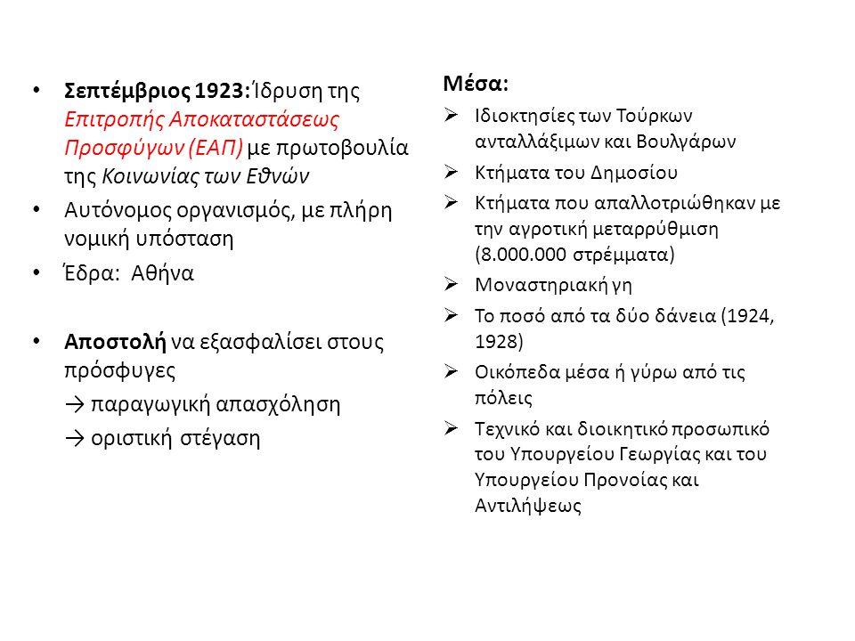 Κριτήρια-παράμετροι για την αποκατάσταση 1.