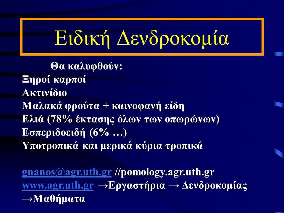 Ποικιλίες Ελιάς στην Ελλάδα Μικρόκαρπες <2g / καρπόΜικρόκαρπες <2g / καρπό Κορωνέικη, Λιανολιά Κερκύρας, Πατρινή.