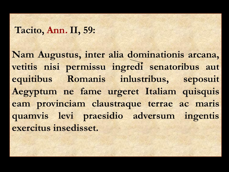 Tacito, Ann.