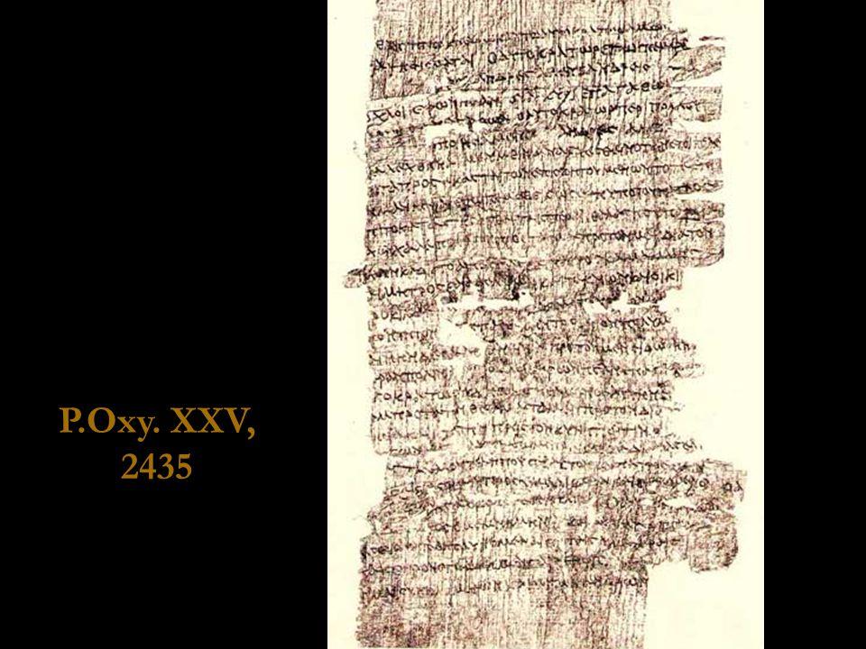 P.Oxy. XXV, 2435