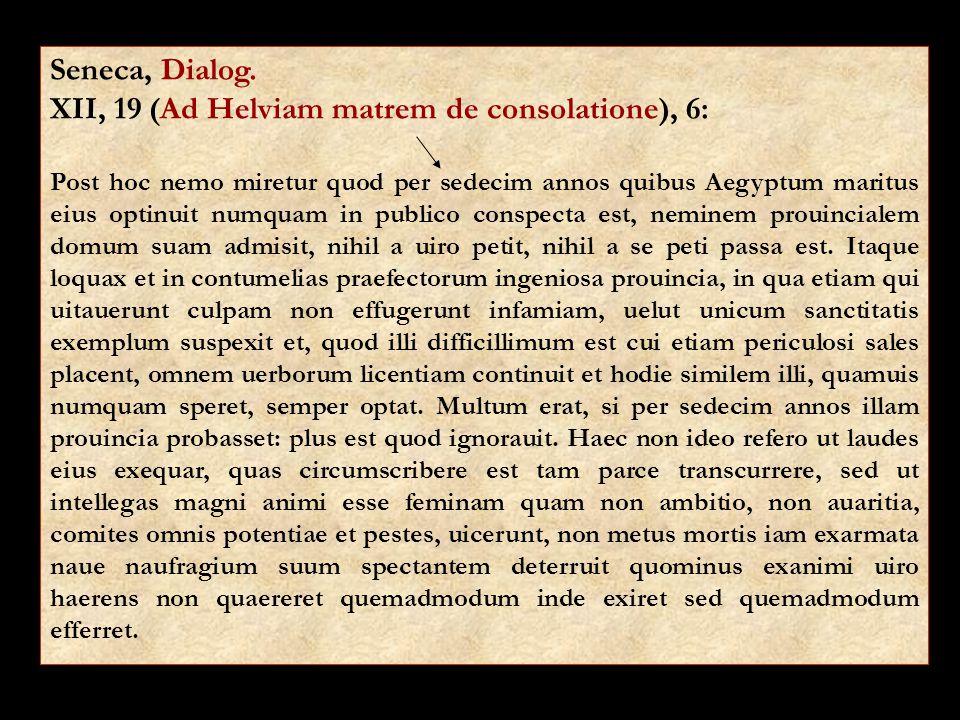 Seneca, Dialog.