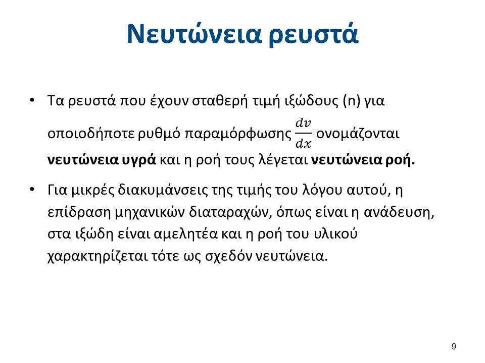 Νευτώνεια ρευστά 9