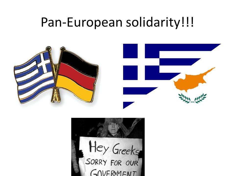 Pan-European solidarity!!!