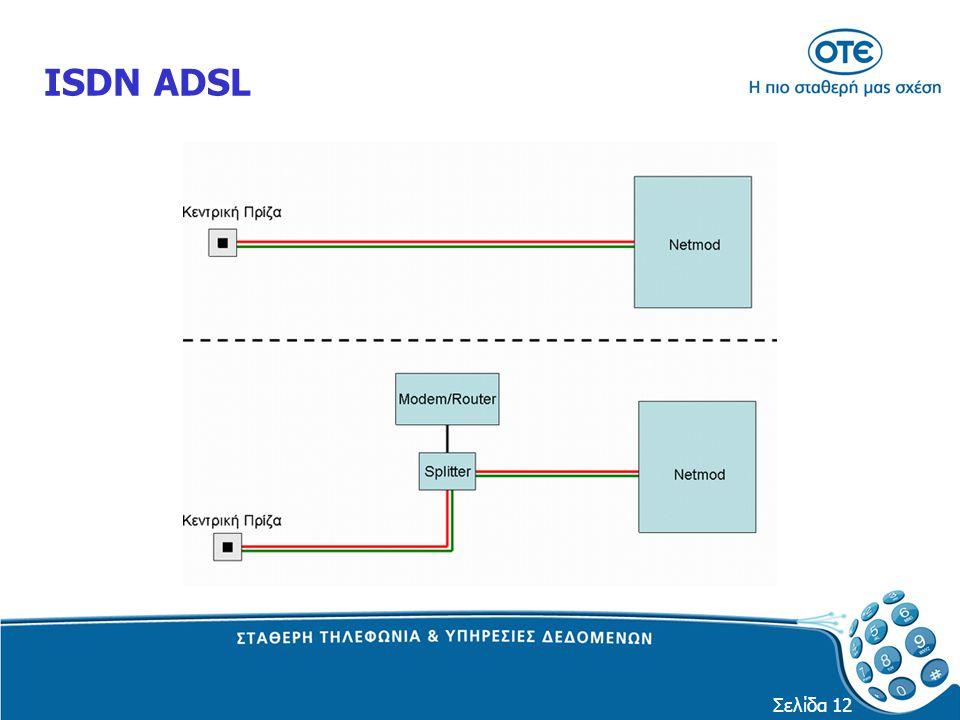Σελίδα 12 ISDN ADSL