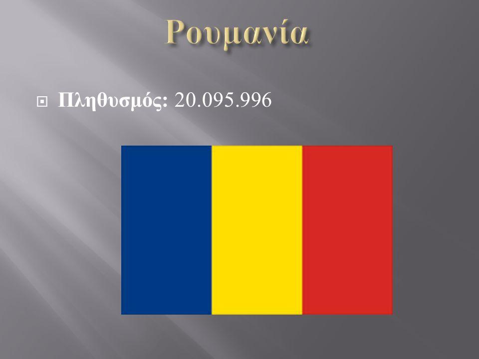  Πληθυσμός : 20.095.996