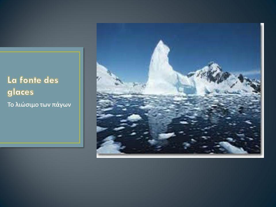 Το λιώσιμο των πάγων