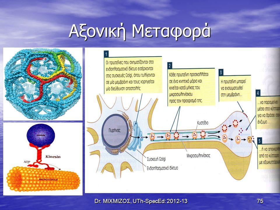 Αξονική Μεταφορά Dr. ΜΙΧΜΙΖΟΣ, UTh-SpecEd: 2012-13 75