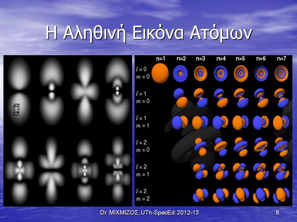 Η Αληθινή Εικόνα Ατόμων Dr. ΜΙΧΜΙΖΟΣ, UTh-SpecEd: 2012-13 8